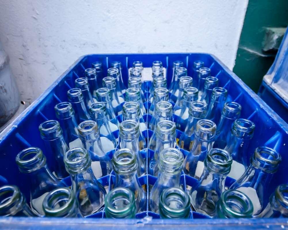 acqua bevande in vetro